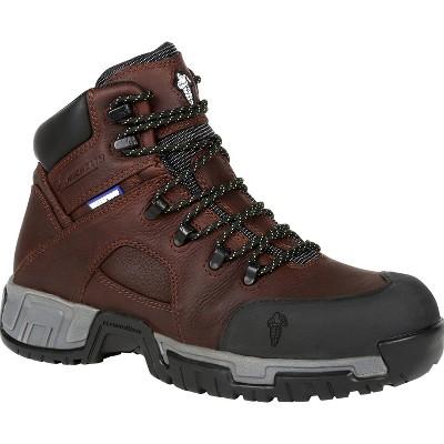 Men's Michelin® HydroEdge Steel Toe Waterproof Work Boot