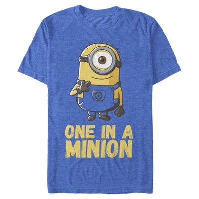 Men's Despicable Me Minions One In A Minion T-Shirt