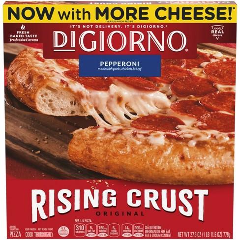DiGiorno Rising Crust Pepperoni Frozen Pizza - 27.5oz - image 1 of 3
