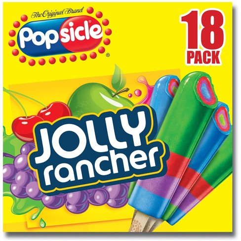 The Original Brand Popsicle Jolly Rancher Ice Pops - 18 ct - image 1 of 3