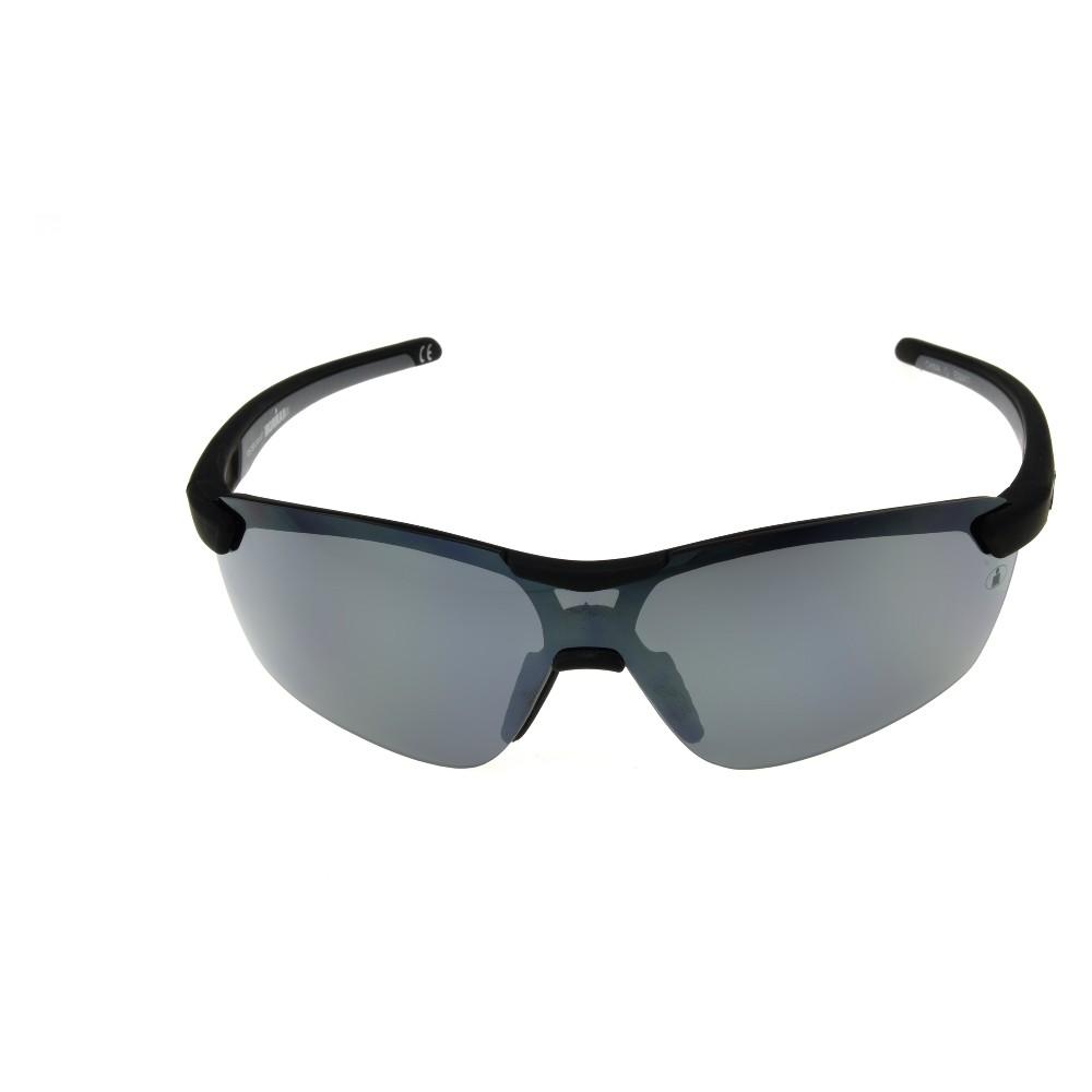 Image of Men's Ironman Polarized Wrap Sport Sunglasses - Black, Size: Small