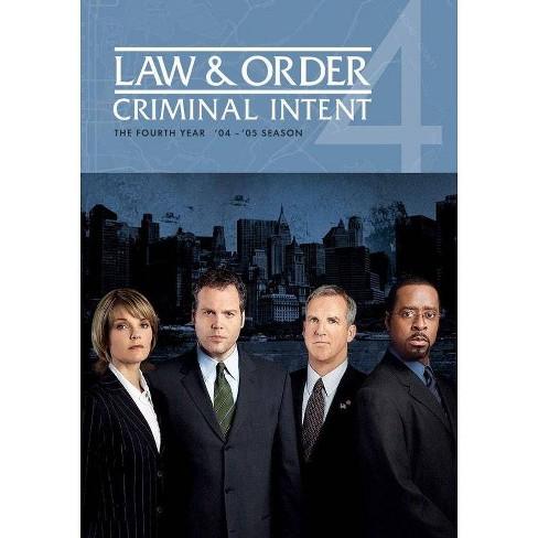 Law & Order: Criminal Intent - Season 4 (DVD) - image 1 of 1