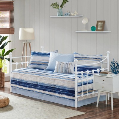 Fairbanks Daybed 6pc Reversible Daybed Cover Set Blue