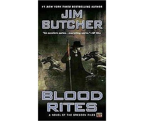 Blood Rites -  (The Dresden Files) by Jim Butcher (Paperback) - image 1 of 1