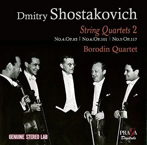 Borodin Quartet - Shostakovich:String Quartets Vol 2 (CD) - image 1 of 1