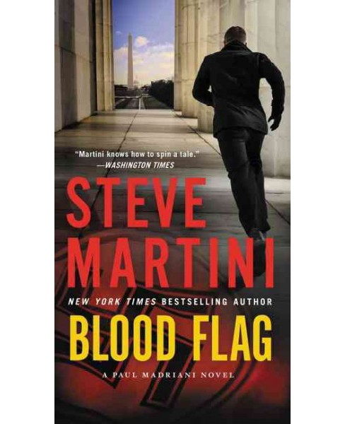 Blood Flag (Reprint) (Paperback) (Steve Martini) - image 1 of 1