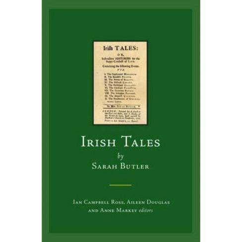 Irish Tales by Sarah Butler - (Early Irish Fiction, C.1680-1820) (Hardcover) - image 1 of 1