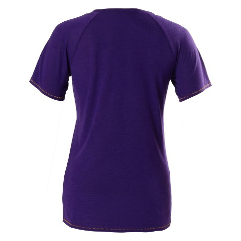 1fef34083233 NBA Los Angeles Lakers Women s Phys Ed Scoop Neck Slub T-Shirt   Target