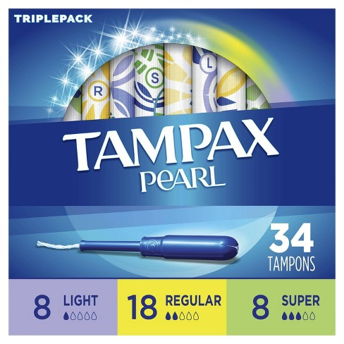 Tampax Pearl Multipack Tampons with LeakGuard Protection - image 1 of 4