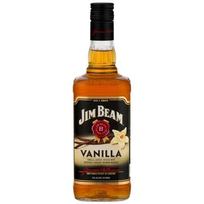 Jim Beam Vanilla Bourbon Whiskey - 750ml Bottle