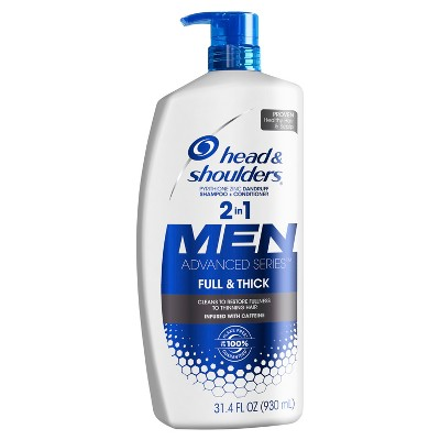 Head and Shoulders Full and Thick Anti-Dandruff 2-in-1 Shampoo and Conditioner - 31.4 fl oz