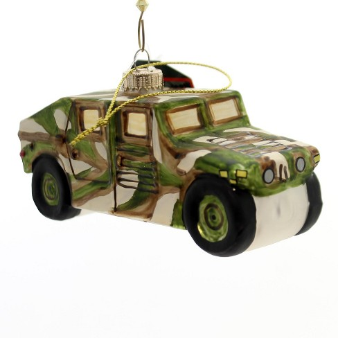 "Holiday Ornaments 2.5"" Army Military Humvee Service U.S. Vehicle  -  Tree Ornaments - image 1 of 2"