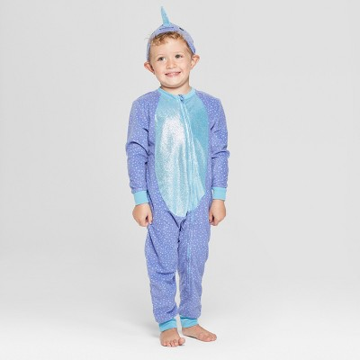 83640b1e6 Toddler Halloween Narwhal Union Suit - Cat   Jack...   Target
