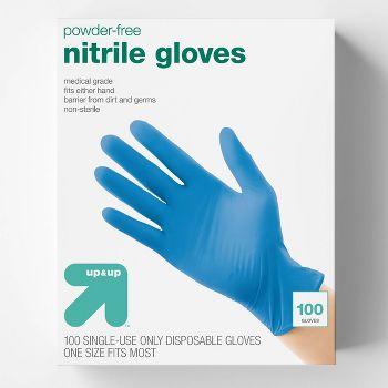 100-Count Nitrile Exam Gloves