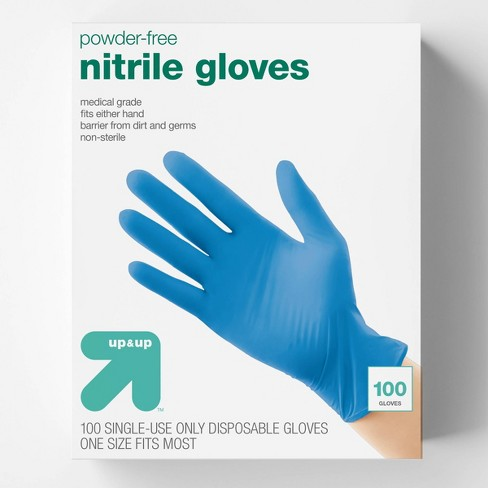 Nitrile Exam Gloves - 100ct - Up&Up™ - image 1 of 4