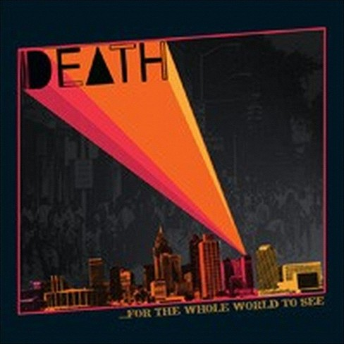 Death - For the whole world to see (CD) - image 1 of 3