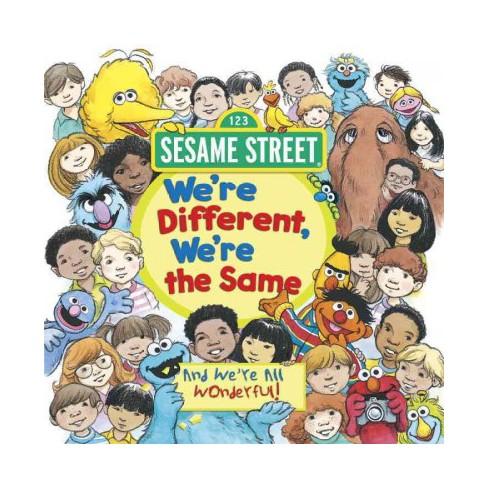 We're Different, We're the Same (Sesame Street) - (Sesame Street Pictureback) by  Bobbi Kates - image 1 of 1