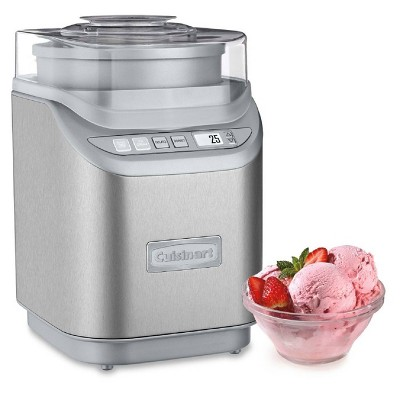Cuisinart Cool Creations Electronic Ice Cream Maker - Brushed Metal- ICE-70P1