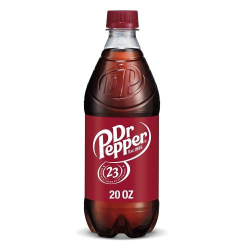 Dr Pepper Soda - 20 fl oz Bottle - image 1 of 4