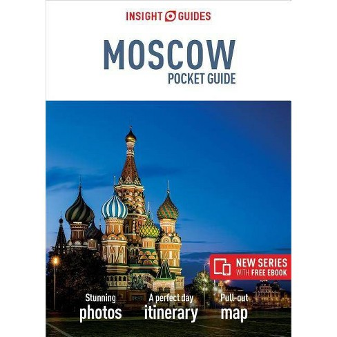 Insight Guides Pocket Moscow (Travel Guide with Free Ebook) - (Insight Pocket Guides) (Paperback) - image 1 of 1
