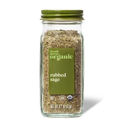 Organic Rubbed Sage -  0.7oz - Good & Gather™