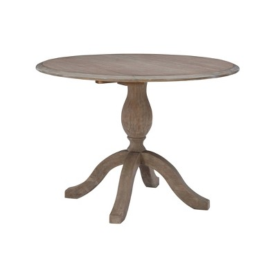 Torino Dining Tables Rustic Brown - Linon