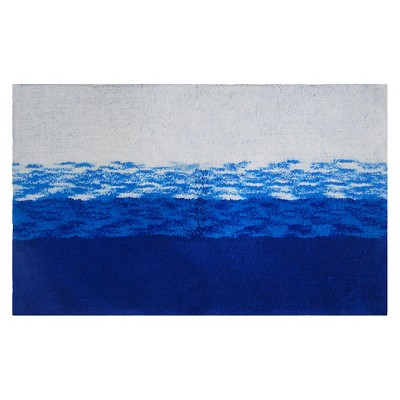 Ombre Bath Rug Blue - Threshold™