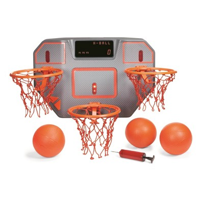 Little Tikes Game Point Triple Shot Challenge Indoor Basketball