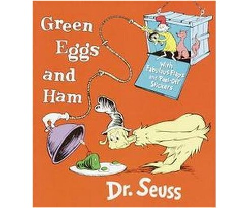 Green Eggs and Ham : With Fabulous Flaps and Peel-Off Stickers (Hardcover) (Dr. Seuss) - image 1 of 1