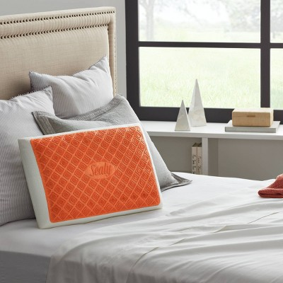 Standard Copper Infused Gel Bed Pillow - Sealy