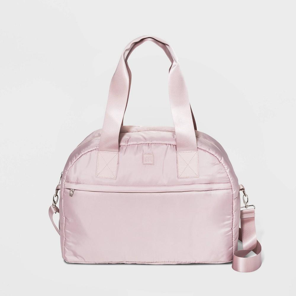 Image of Front Zip Pocket Weekender Bag - JoyLab Pink, Women's, Size: Large