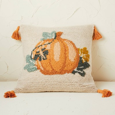 Pumpkin Square Throw Pillow - Opalhouse™ designed with Jungalow™