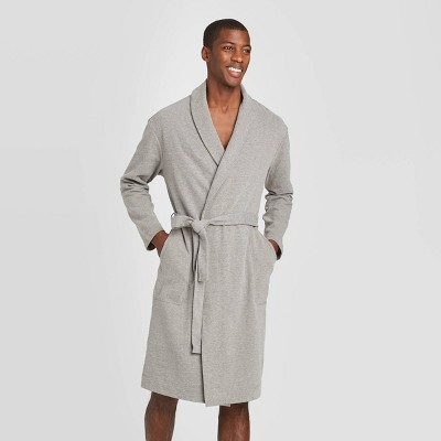 Men's Lightweight Robe - Goodfellow & Co™ Gray L/XL