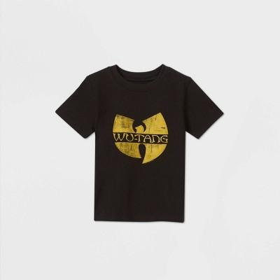 Toddler Boys' Hip Wu Tang Short Sleeve T-Shirt - Black