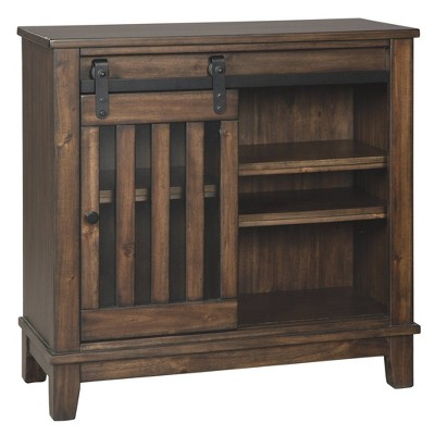 Brookport Accent Cabinet Brown - Signature Design by Ashley