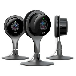 Google Nest Cam Indoor Security Camera - 3 Pack