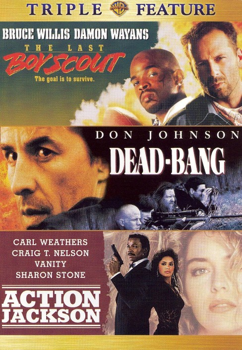 Last boy scout/Dead bang/Action jacks (DVD) - image 1 of 1