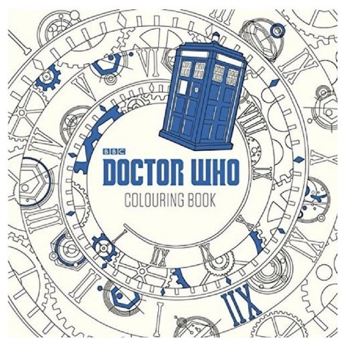 Doctor Who Adult Coloring Book by BBC by Stern Sloan Price : Target