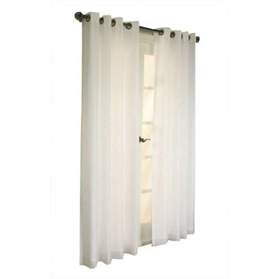 Thermavoile Rhapsody Lined European Voile Grommet Top Window Panel