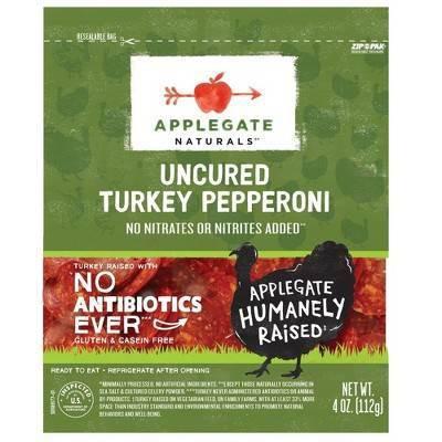 Applegate Natural Uncured Turkey Pepperoni - 4oz