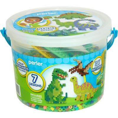 Perler Dinosaurs 5500pc Beads Activity Bucket