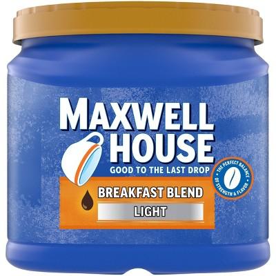 Maxwell House Breakfast Blend Light Roast Ground Coffee - 29.3oz