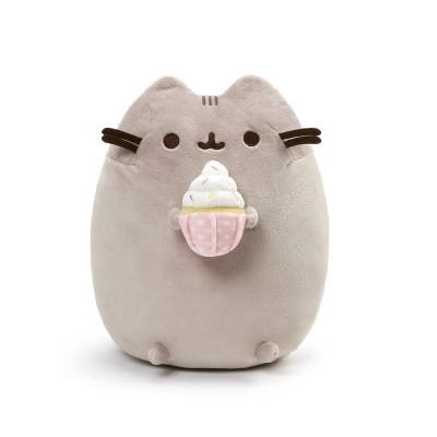 """GUND Sprinkled Cupcake 9.5"""" Pusheen Toy Plush"""