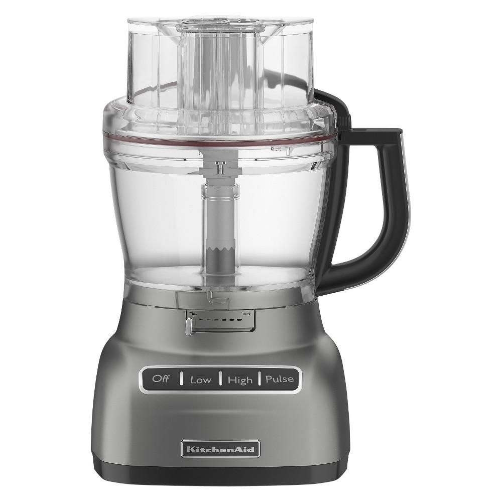 KitchenAid 9 cup Food Processor - KFP0922, Silver