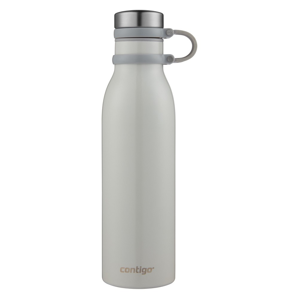 Contigo 20oz Couture Thermalock Vacuum-Insulated Stainless Steel Water Bottle Metallic Oyster