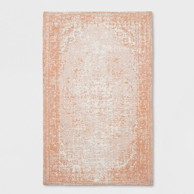 Jacquard Cotton Accent Rug (2'x3')- Pink - Threshold™