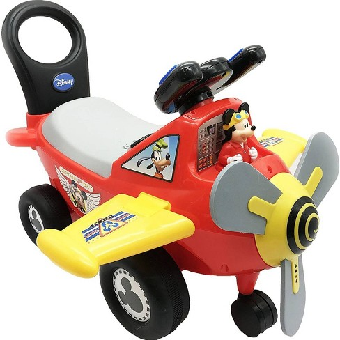 Kiddieland Disney Mickey Mouse Clubhouse Plane Light and Sound Activity Ride-On - image 1 of 3