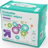 Toddler Unscented Wipes Flushable - 144ct - Up&Up™ - image 4 of 4