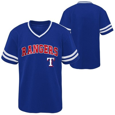 MLB Texas Rangers Toddler Boys' Pullover Jersey