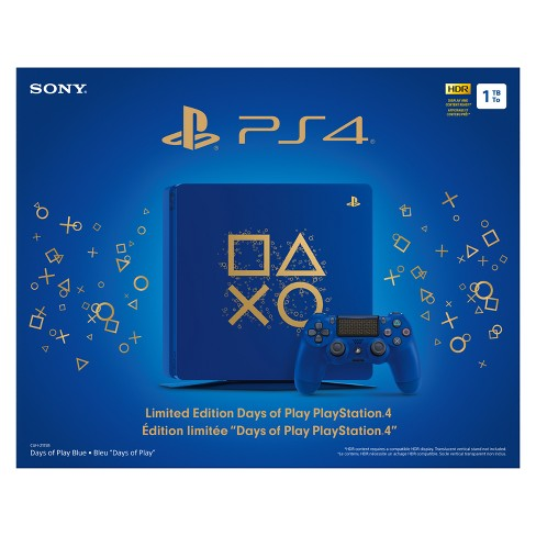 limited edition ps4 clear blue